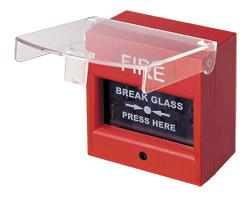 Nút ấn khẩn vuông bể kính AH-0217