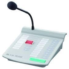 Micro thông báo chọn vùng TOA RM-200M
